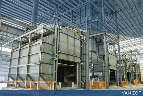 Furnaces manufacture in Monterrey